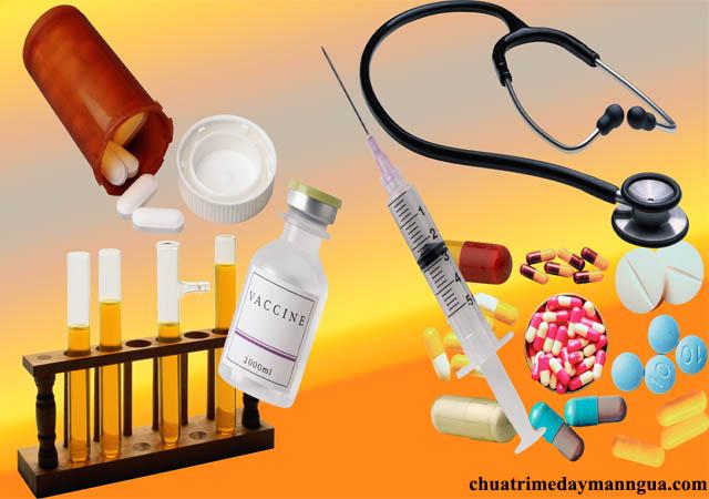 Thuốc tây chữa bệnh mề đay mãn tính