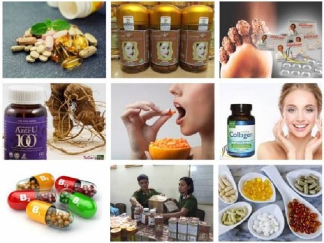 Thực phẩm chức năng được bán rộng rãi trên thị trường