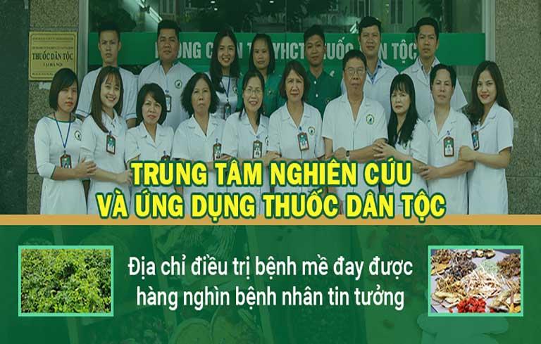 Trung tâm Thuốc dân tộc chữa mề đay mẩn ngứa thành công cho hàng ngàn người bệnh