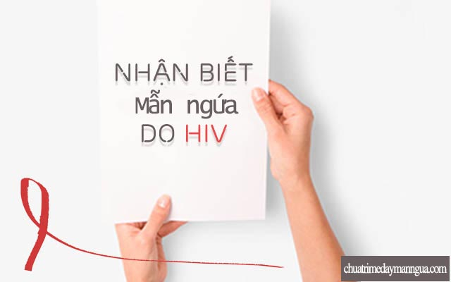 mẩn ngứa HIV
