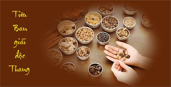 Thuốc chữa mề đay mẩn ngứa Tiêu Ban Giải Độc Thang