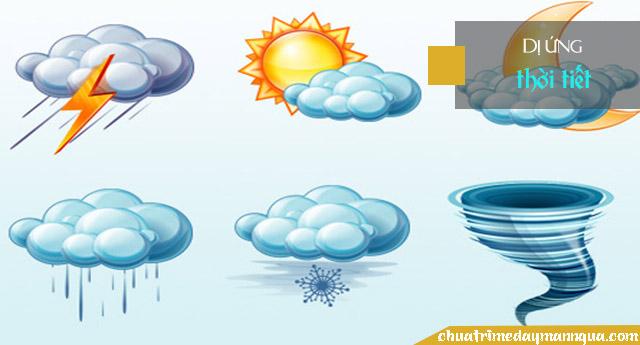 Dị ứng thời tiết