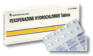 Thuốc chống dị ứng Fexofenadine