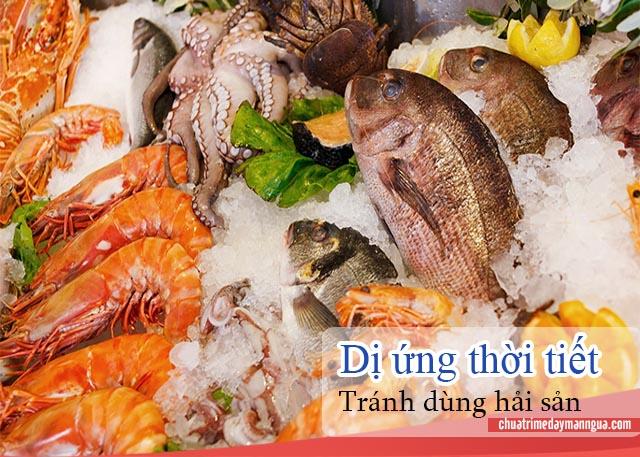 Không ăn hải sản