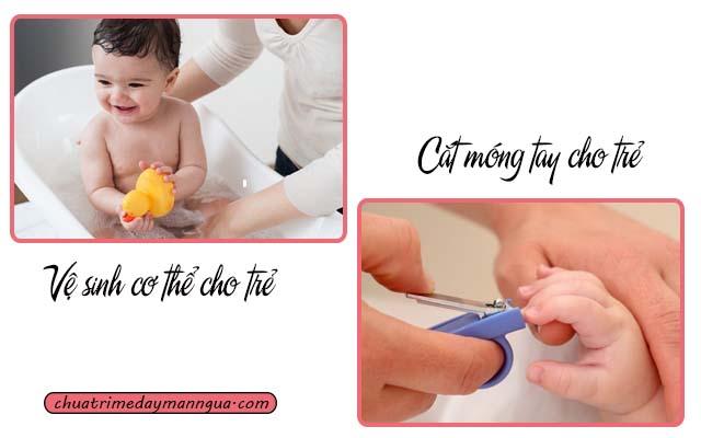 bệnh phong ngứa ở bé