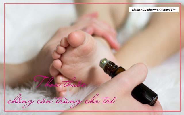 Cách bảo vệ da cho trẻ bị nổi mề đay