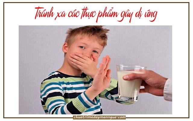Mẹo chữa dị ứng thực phẩm cho trẻ