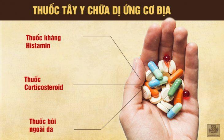 Các nhóm thuốc chữa dị ứng cơ địa thường dùng