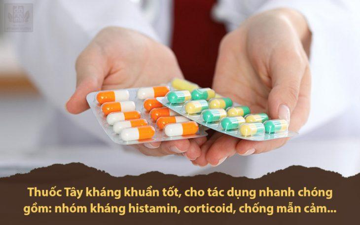 Thuốc tây y chữa bệnh phong ngứa