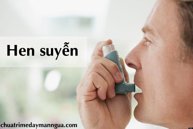 Triệu chứng dị ứng thời tiết khi hen suyễn