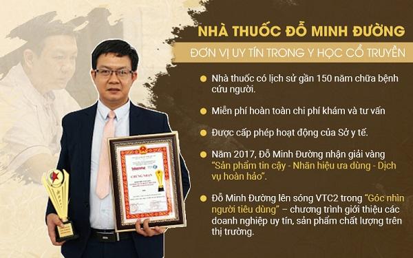 Thông tin nhà thuốc Đỗ Minh Đường