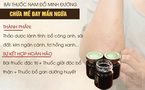 Bài thuốc nam trị mề đay mẩn ngứa của Đỗ Minh Đường