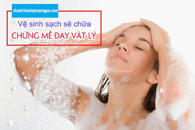 tắm rửa sạch sẽ