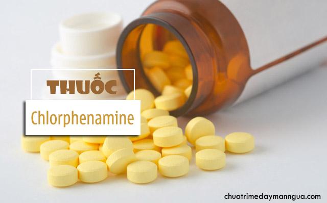 những thông tin cần biết về Chlorphenamine