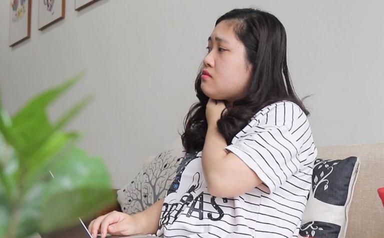 Mề đay ảnh hưởng rất lớn đến công việc và cuộc sống của chị Trinh