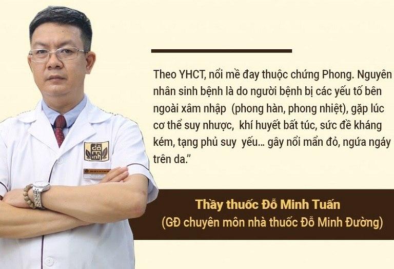 Lương y Đỗ Minh Tuấn - Giám đốc chuyên môn nhà thuốc nam Đỗ Minh Đường